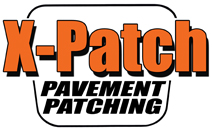 X-Patch Pavement Patching Logo